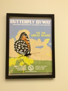 Butterfly Byway poster by Great Plains Ecotourism Coalition.